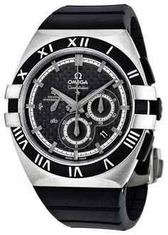 Omega men watches : Omega Men's 121.92.41.50.01.001 Constellation Black Dial Watch