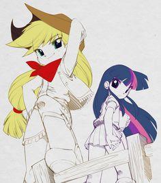Apple jack and Twilight - bleedman Photo