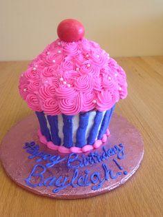 Large Cupcake Cake By Saras Sweet Bakery Grand Rapids MI