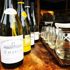 Chardonnays from Burgundy is the theme for our next wine Tasting tomorrow! We're very excited to present 4 crisp and dry white wines covering Burgundy from north to south! These wines are nothing like their California counterparts!  From the dry mineral citrus Chablis wines to the softer and warmer Maconnais with hints of apple and pear! Come discover this old world varietal in its original style straight from Burgundy France! (flight of 4 wines - 2oz pours for $23 with optional cheese…