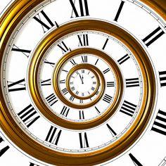 Espiral del tiempo, fotografía de Chris Limb