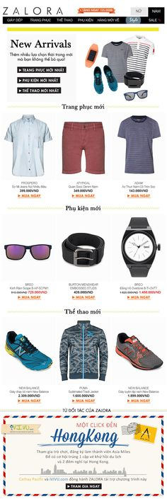 Zalora Vietnam Men Newsletter | Oct 25th 2013
