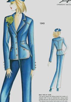 Marfy jacket 1243