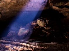 Bucket List: New Mexico's Carlsbad Caverns National Park. If you hike out, however, you may stumble across this beautiful beam of light that can only been seen in the late afternoon and which most visitors miss by taking the elevator up.