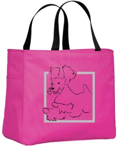Obedience English Springer Spaniel Tote Bag by WryToastDesigns, $15.99