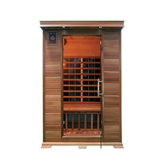 Aleko Canadian Red Cedar Indoor Dry Infrared Sauna with 8 Carbon Fiber Heaters Infrarot Sauna, Sauna Room, Oslo, 2 Person Sauna, Canadian Spa, Indoor Sauna, Portable Sauna, Barrel Sauna, Traditional Saunas