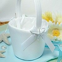 the beach flower girl basket