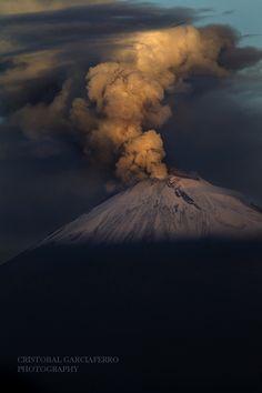 Popocatepetl Volcano - Puebla, Mexico