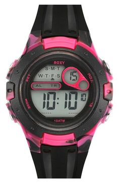 47d95aa636b Roxy  The Tour  Chronograph Digital Sports Watch