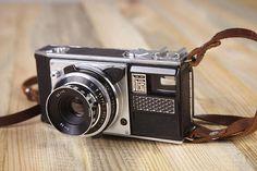 Vintage Rare Camera Voskhod. Film Camera Voshod. Working