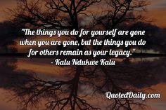 Kalu Ndukwe Kalu Quote - More at QuotedDaily.com