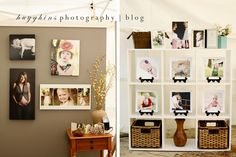 Hugghins Photography: {Grayson Day Festival}  Seriously LOVE the shelf idea!
