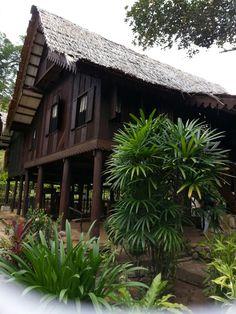 Malay Traditional House in Langkawi, Kedah
