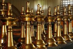 Nilavilakku- Bell metal oil lamps cast in Kerala by master artists