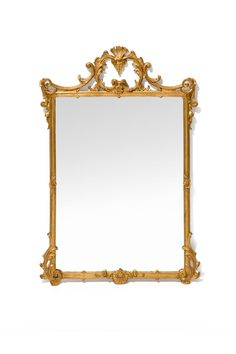 THE WELL APPOINTED HOUSE - Luxury Home Decor- Elegant Wall Mirror in Gold $572 Barbara Cosgrove