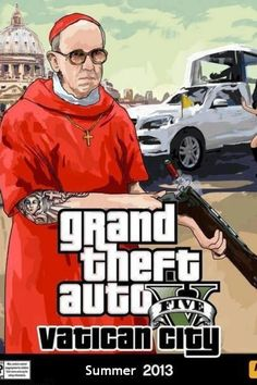Humor Adv ::: GTA5 VaticanCity ::: Summer 2013
