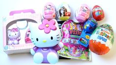 HELLO KITTY SURPRISE EGGS Filly Princess Pony Kinder Opening Egg Surprises