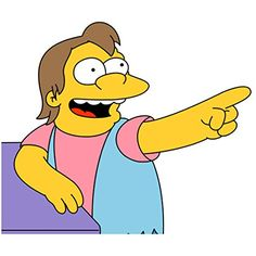 10 best nelson muntz simpsons images the simpsons decal decals
