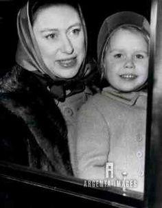 argentaimages: Princess Margaret and daughter Lady Sarah, 1968