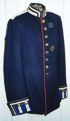 Waffenrock for a Kurassier in the Garde Kurassier Regiment.