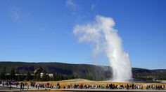 50 States - 50 Landmarks  Wyoming, Old Faithful