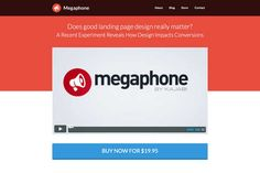 Megaphone - Use Megaphone To Create Better Marketing Pages.