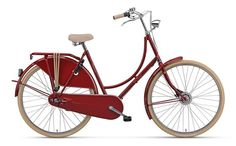 Batavus Old Dutch-3 Dames Rood