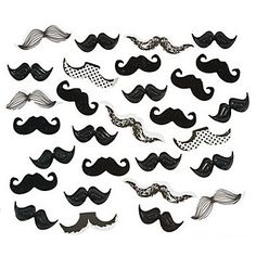 Mustache Party Confetti | 2oz