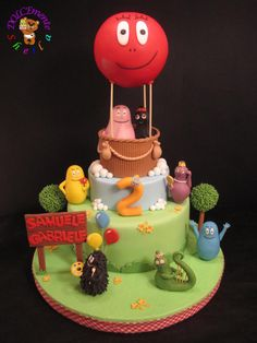 Barbapapa - Cake by Sheila Laura Gallo