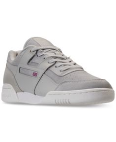 newest e8de4 3c977 Reebok Men s Workout Plus Mcc Casual Sneakers from Finish Line - MARBLE  CHALK 13 Fitness