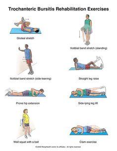 Hip flexor Stretch Physical Therapy - - Hip flexor Stretch For Beginners - Hip flexor Yoga - - Hip flexor Muscles Anatomy Hip Bursitis Exercises, Hip Stretching Exercises, Bursitis Hip, Knee Physical Therapy Exercises, Outer Hip Stretches, Hip Flexor Pain, Sports Physical Therapy, Band Exercises, Hip Flexors