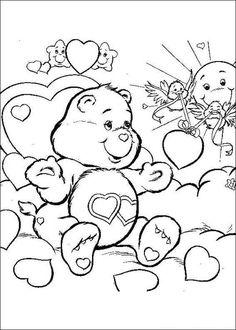 Eenvoudige Kleurplaten Troetelbeertjes.84 Jaloersmakende Afbeeldingen Over Troetelbeertjes Care Bears
