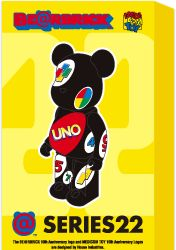 Pattern UNO by Bearbrick
