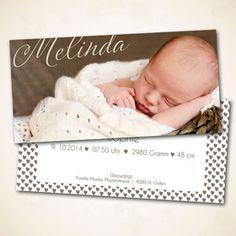 Geburtsanzeige online bestellen