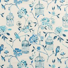 Geisha Curtain Fabric FabricComposition Cotton Pattern Repeat (cm) 64 Fabric Width (cm) 137 Colour Lulworth Blue RRP per metre NOW ONLY Per Metre Blue Roman Blinds, Roman Blinds Direct, Curtains With Blinds, Window Blinds, Free Fabric Samples, Prestigious Textiles, Happy House, Blue China, Green Fabric