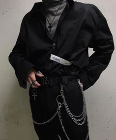 Interpretation of enigma boy fashion, grunge fashion, korean fashion, fashion design, mens Edgy Outfits, Grunge Outfits, Grunge Fashion, Look Fashion, Korean Fashion, Mens Fashion, Fashion Outfits, Fashion Design, Fashion Rings