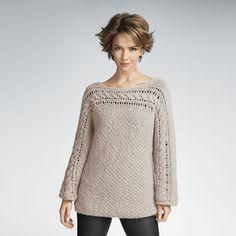 Modell 148/4, Pullover aus Prato von Junghans-Wolle, 1 versch. Farben