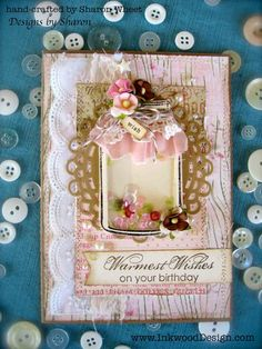Birthday Jar Wishes by InkwoodDesigns on Etsy
