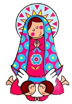 Dibujos Católicos Virgen María Moderna Para Colorear Mirthita