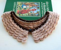 Ravelry: Ellie Crochet Collar pattern by Eaden Yarns