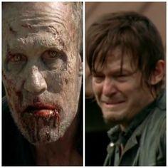 Merle & Daryl Dixon. Tears. Just so many tears
