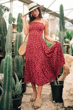 Wildflower Floral Midi Dress Wildflower Floral Midi Dress Dresses – böhme Sun's Out: Let's All Buy a Summer Dress ASAP Floral Midi Dress, Boho Dress, Dress Outfits, Cute Outfits, Midi Dress Outfit, Midi Dresses, Pretty Outfits, Casual Summer Dresses, Casual Midi Dress