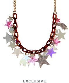 Galaxy Statement Necklace // AW16 Cosmic Galaxy // £150