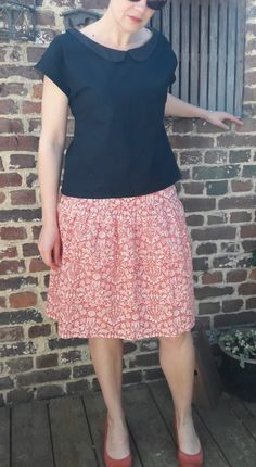 Cette année, j'ai participé au « Me made may Couture, Lace Skirt, Floral, Skirts, Fashion, Floral Skirts, Haute Couture, Florals, High Fashion