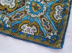 Echo Scarf Vintage by FancyVintageFinds on Etsy, $12.00
