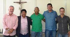 NONATO NOTÍCIAS: FBF recebe visita do deputado Bobô e desportistas ...