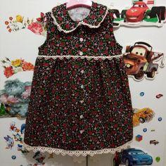 pazen elbise | ornitorenk handmade Frock Patterns, Baby Dress Patterns, Frocks For Girls, Dresses Kids Girl, Flannel Dress, Black Sesame, Couture, Kind Mode, Elie Saab