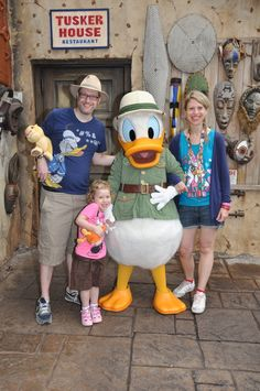 The 5 best restaurants for meeting Disney character at Walt Disney World! #disney #disneyworld #florida