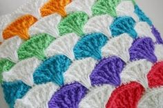 Paintbrush Pillow and Afghan Pattern