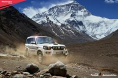 A range of advanced features that are designed specifically for comfort, safety and style – Mahindra #Scorpio